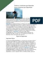 Psicosis afectivas y trastornos por depresión