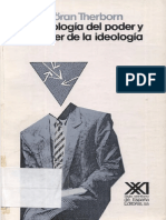 Therborn Goran - La Ideologia Del Poder Y El Poder De La Ideologia