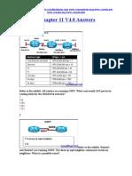 CCNA 2 Chapter 11 V4.0 Answers 2011