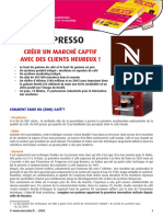 Séance 8 - Etude de cas Nespresso
