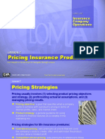 Pricing Strategy Product Insurance