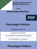 PPT 9-10-11.  PSICOLOGÍA POLÍTICA (2)
