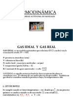 Gas Ideal y Real