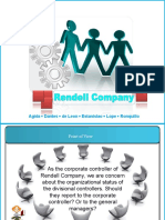 Case Study - Management Control - Rendell Company