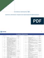II основные принципы ГДИС. Описание нестац. фильтрации