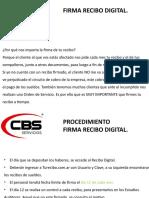 Presentación Recibo Digital