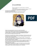 Pablo Berraud -  DUDAR DE LA DUDA