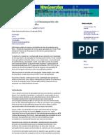O Protocolo RSVP e o Desempenho de Aplicações Multimídia