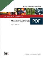 BS EN 13480-2-2012 + A1-2013