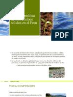 La problemática de los residuos solidos en el Perú