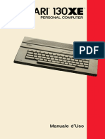 Atari 130XE Manuale d'Uso