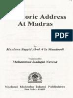 Khutba e Madras