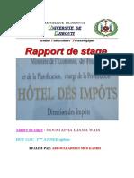 Rapport de Stage Abdoulrahman Kadiri 2012