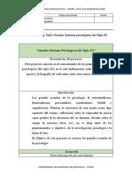 Plantilla Proyecto Grandes Sistemas Psicologicos del Siglo XX