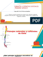 1AB Historia Paisajes Naturales y Culturales de Chile