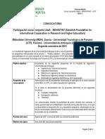Ampliada Convocatoria ProyectoMDH STINT UdeA UTP 2021 2