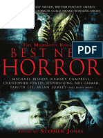 The Mammoth Book of Best New Horror v.20
