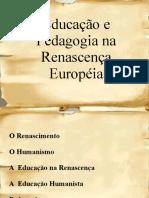Educao e Pedagogia na Renascena Europia 2 - Cpia