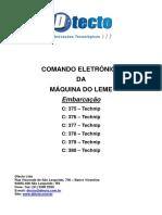 Manual Comando Eletrônico da Máq. do Leme - TECHNIP