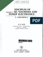 Livro Principio Das Máquibas Eletricas