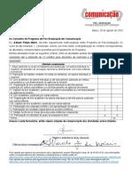 formulário créditos