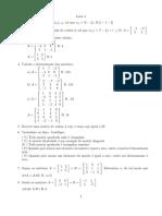 lista matrizes
