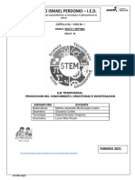 Guía 1 STEM Ciclo III (6 y 7) J.T.