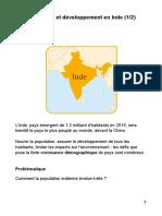 Population et développement en Inde 1