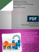 Competencias del Municipio y la Prestación de los Servicios Públicos