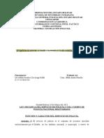 ENSAYO II LEGISLACION POLICIAL