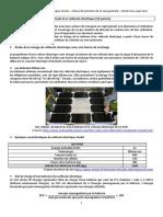1 PC 2020 Sujet0 VehiculeElectrique 10pts