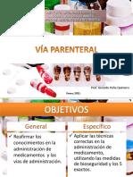 Tema Otras vÍas de administración de medicamentos