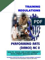 TR PERFORMING ARTS - DANCE NC II