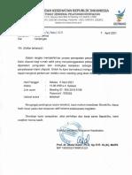 Undangan Dispute 6 April 2021