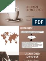 TM 3 Ukuran Demografi Dan Diagram Lexis