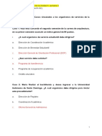 Análisis de Casos Vinculados a Los Organismos de Servicios de La Universidad.