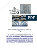 Greek Fraternities and Freemasonry Part 3