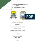 INSTITUTO DE EDUCACION SUPERIOR TECNOLOGICO PUBLICO caratula