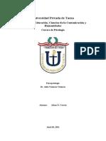 Resumen de Introducción a La Historia de La Psicopatología