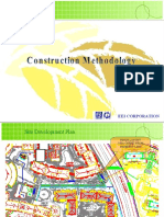 CONSTRUCTION METHODOLOGY