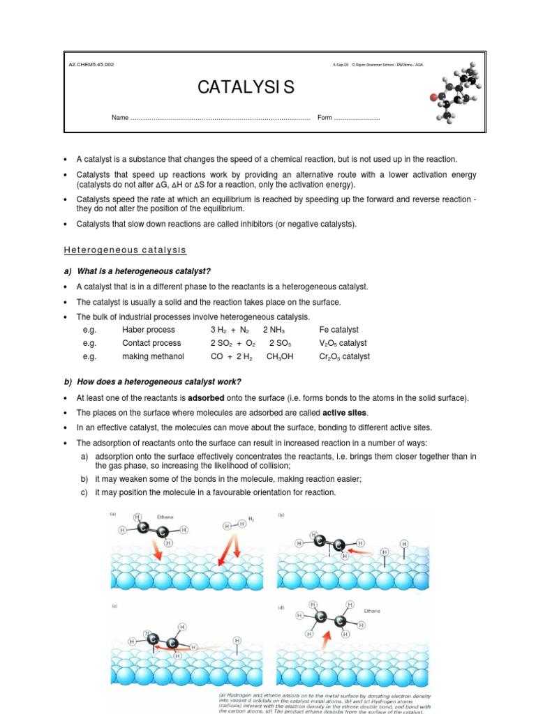 v2o5 catalyst contact process