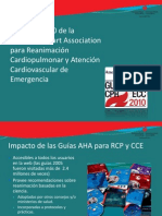2010 American Heart Association Guías para RCP-N esp