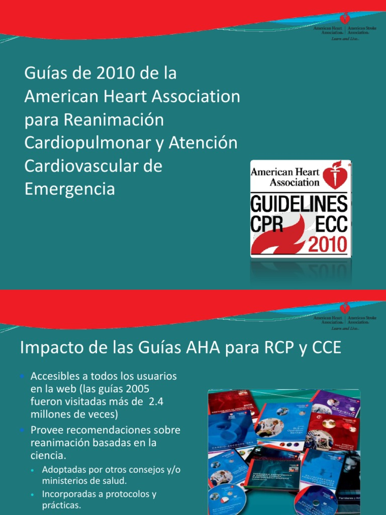 2010 american heart association guas para rcp n esp fandeluxe Image collections