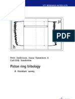 Piston Ring Tribology