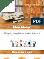 Clase 4 Lengua y literatura 3ro medio