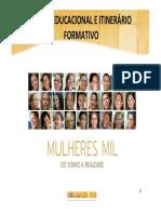 ITINERÁRIO FORMATIVO