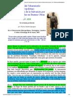 Charles Spurgeon _ La Congruencia de la Salvación por Gracia con Andar en Buenas Obras_ sermón 2210 _ Tabernáculo Metropolitano