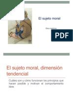El Sujeto Moral - Libertad Amor Conocer Desear