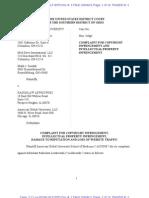 Complaint AGUSM Med School Belize
