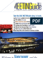 DIAC Meeting Guide 2011 Pacific Dental Conference, Vancouver